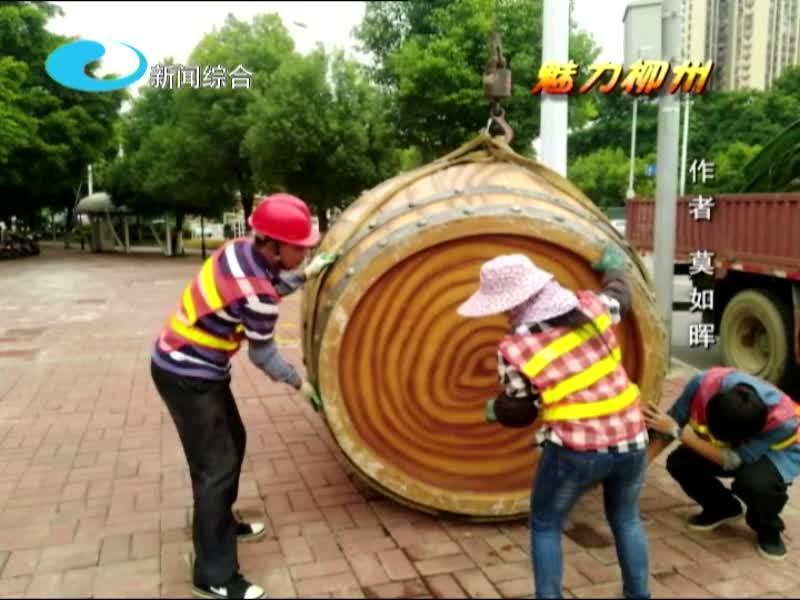 魅力柳州——扮靓城市迎接国庆