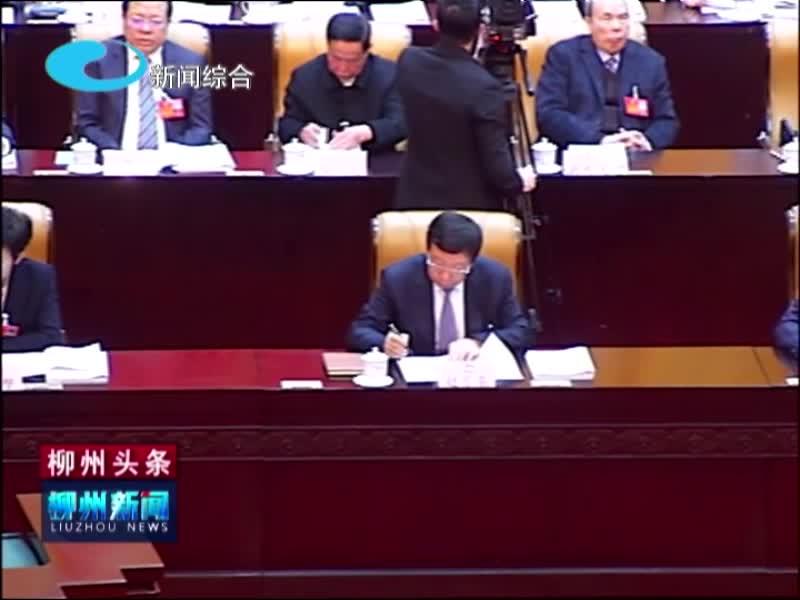 自治区十三届人大四次会议开幕 《政府工作报告》多项内容涉及柳州