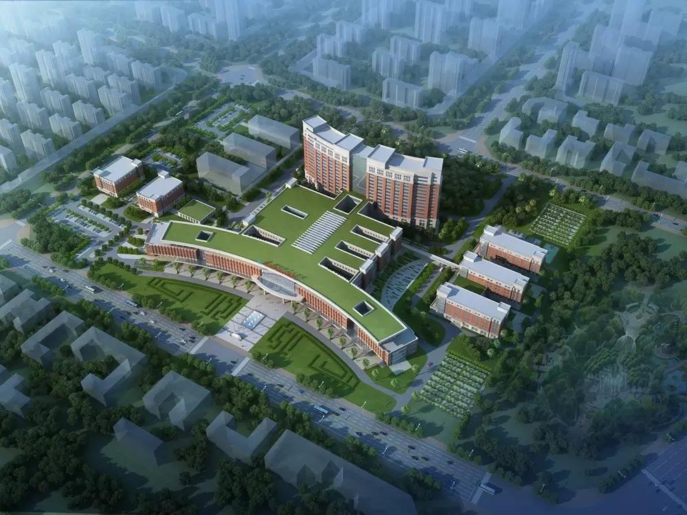 柳州市工人医院新院规划图