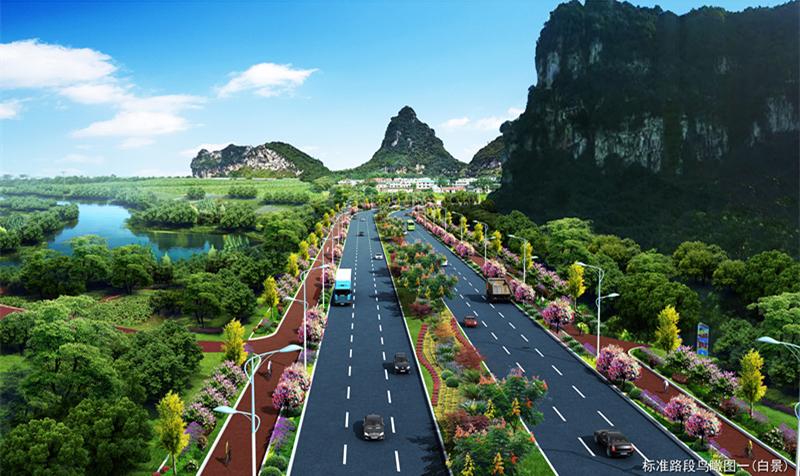 柳江外环最后一公里 白莲大道一期工程预计春节前后通车