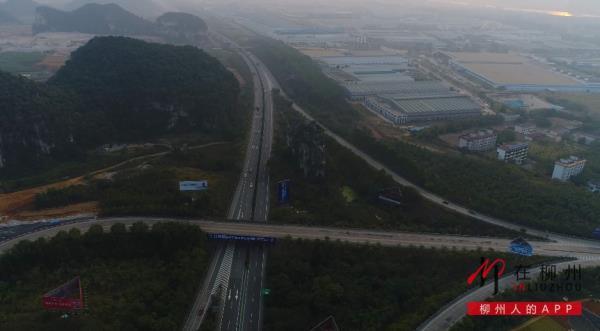 """好消息!新""""柳州东""""收费站,柳梧高速本月底启用"""