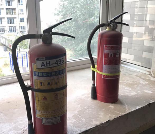 消防设施成摆设 业主缺乏安全感