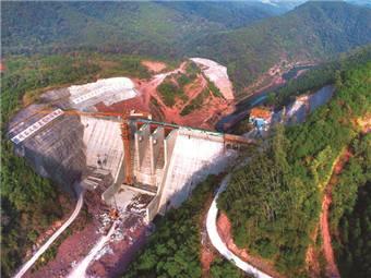 柳州今年要建成古偿河水库工程