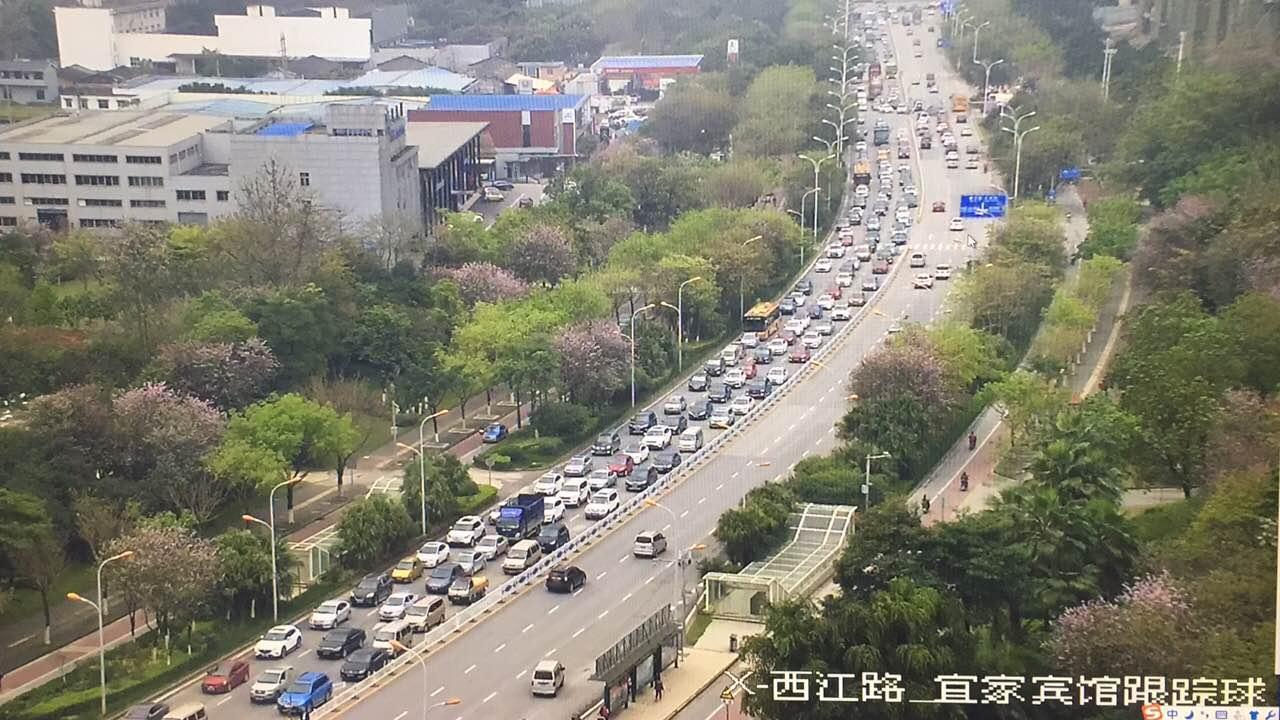 【路况滚动直播】柳南高速来宾段发生两起追尾事故