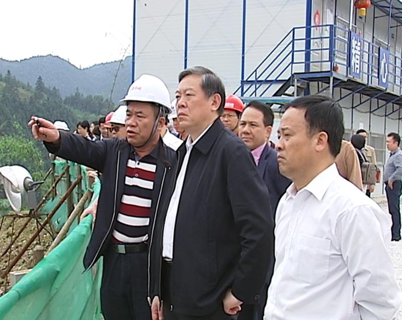 三大水利枢纽加快推进 自治区领导要求建设方保质保量