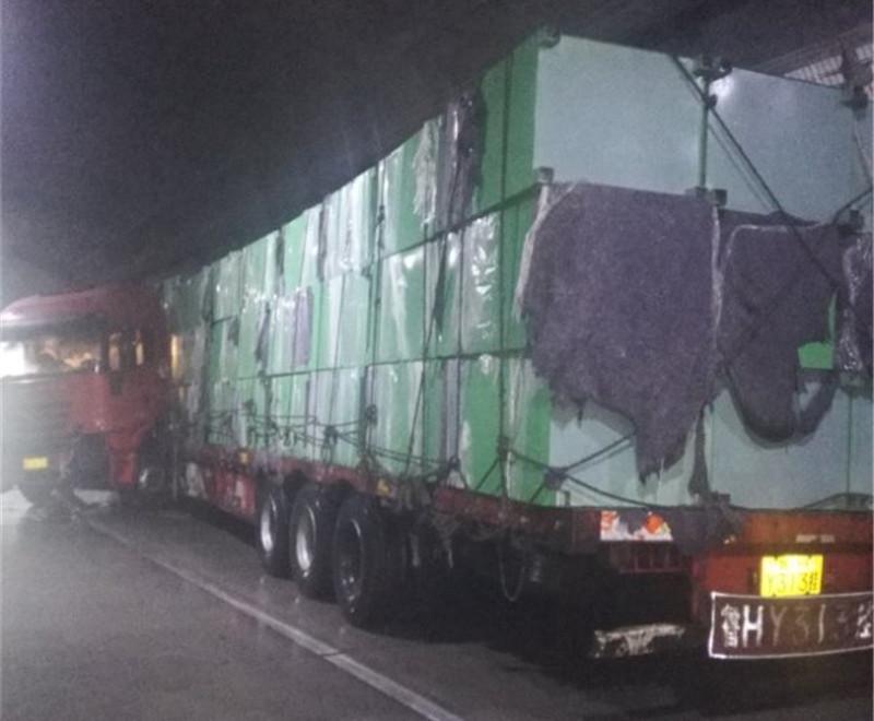【路况】桂柳高速大端隧道内事故排开 通行恢复正常
