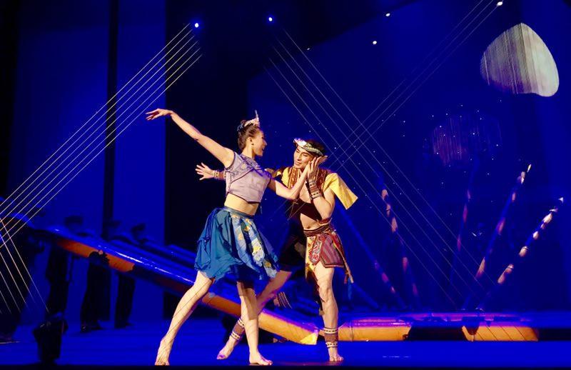 柳州3D舞蹈诗《侗》昨晚亮相国家大剧院 收获好评无数