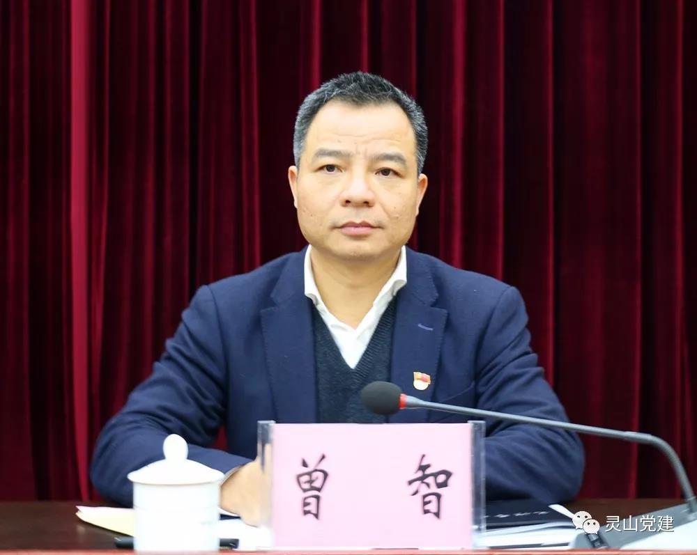柳州市政府原秘书长曾智被任命为中共灵山县委书记