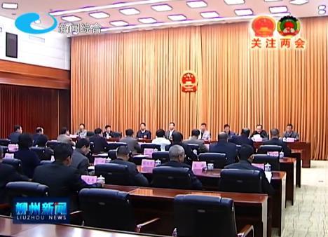 市十四届人大三次会议主席团举行第四次会议