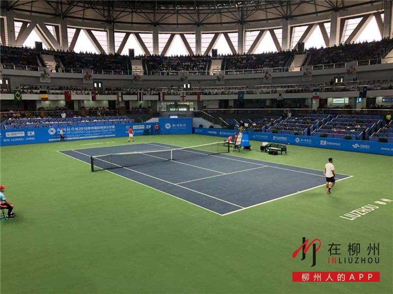 眼福!2018柳州国际网球公开赛今日开幕啦~