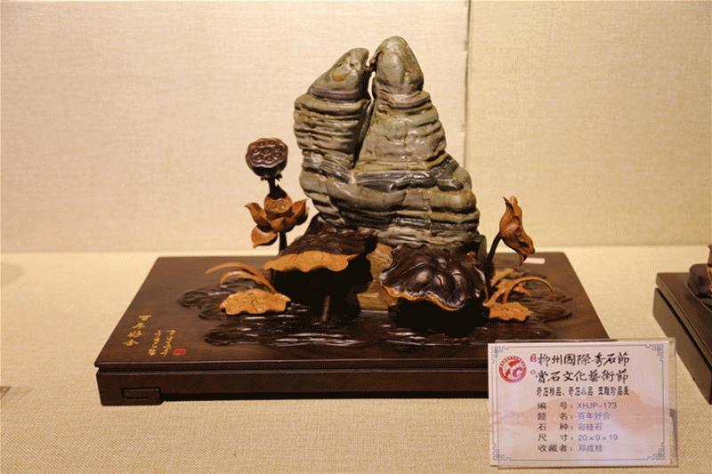 测测|去柳州奇石馆赏石 考考你的艺术细胞有几成