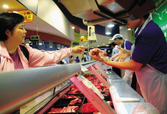 """柳州有2家超市被拟授予""""放心肉菜示范超市"""",是你经常去的吗?"""
