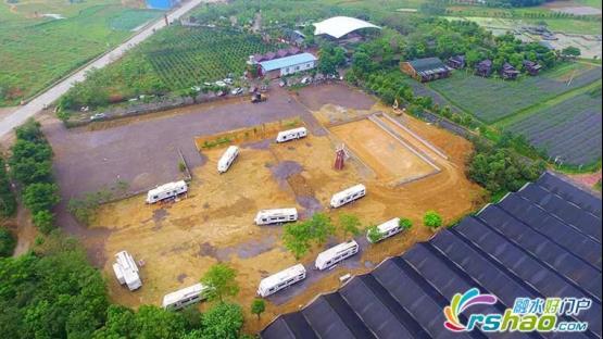 打破传统农庄经营模式,七彩农场开建融水首个房车营地