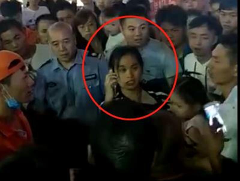 """谷埠街""""抢小孩""""视频微信群疯转 记者实地探访 警方介入调查"""