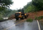 【路况】三江丹洲塌方段已基本抢通 209国道可单向通行