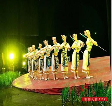 昨晚,《八桂大歌》奏响国家大剧院