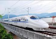 咻~~南宁至柳州动车首次试验 时速达到250公里