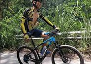 """为你打call!柳州""""独腿侠""""参加100公里自行车挑战赛"""
