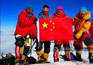 柳州仔刘政成功登顶北美洲最高峰麦金利山