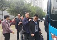 自治区十三届人大二次会议柳州市代表团赴邕报到