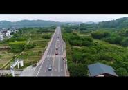 美呆了!航拍环广西自行车赛最美赛道——环江滨水大道