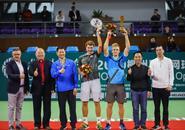 2019柳州国际网球公开赛男子赛事收官,男单、男双冠军有归属
