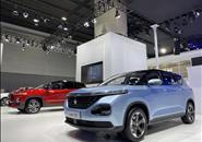 宝骏推出新车型RM-5 1.5L 智能家族列阵广州车展会