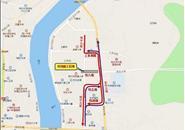 23日起,桂中大道纬六路路口进行全封闭施工