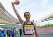 柳州妹韦永丽将出战2019国际田联世界田径接力赛