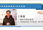 市政协委员张征:加快推进物联网+农业发展