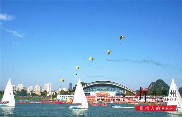 柳州再次惊艳全国!水上狂欢节开幕式超多精彩大图来袭~