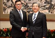 郭声琨会见香港警务处处长邓炳强