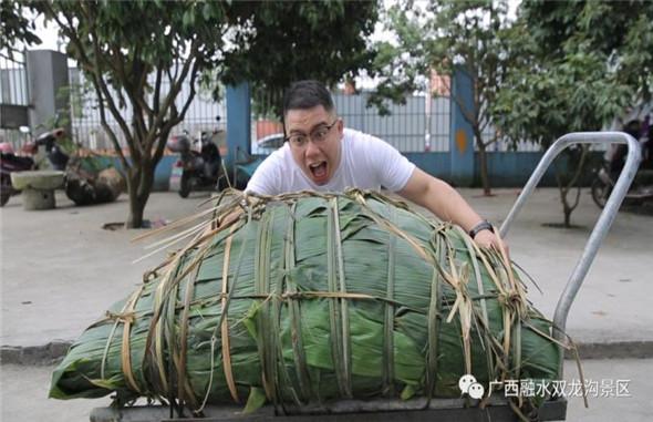 """有空吗?端午节想和您""""粽""""情相约一起品""""百家米 千人粽""""!"""